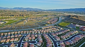 Santa Clarita Valley Homes Aerial