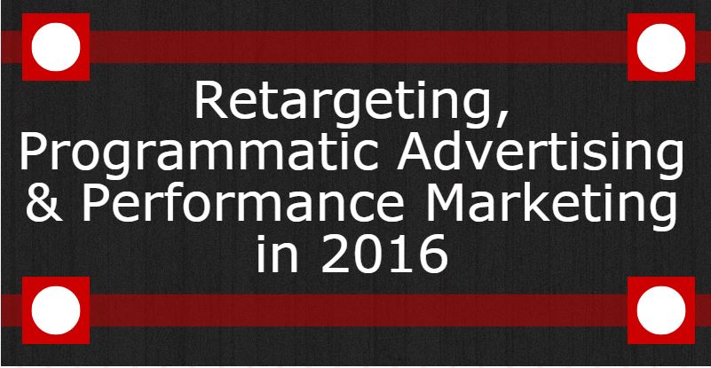 Retargeting, Programmatic Advertising Header