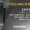 el clasidficado wins EPPY award